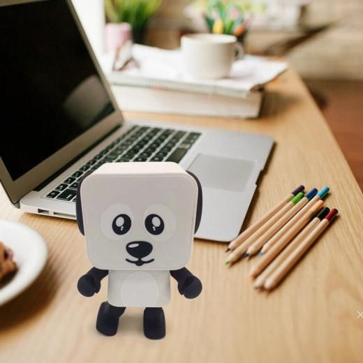 Smart Robot Electronic Toys Dancing Dog Music Bluetooth Wireless Mini Speaker Universal Bluetooth Rechargeable Battery Usb China