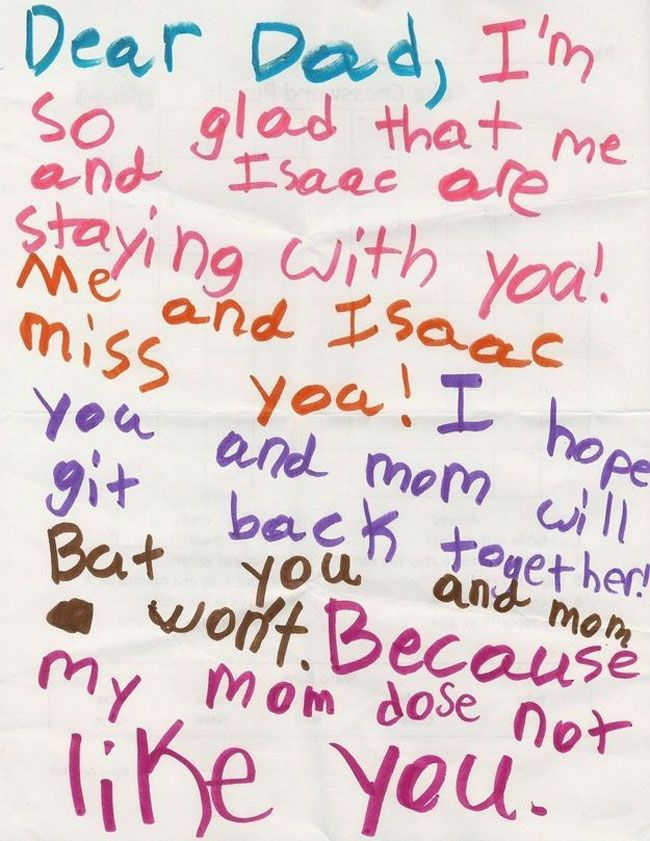 32 Hilarious Notes From Kids