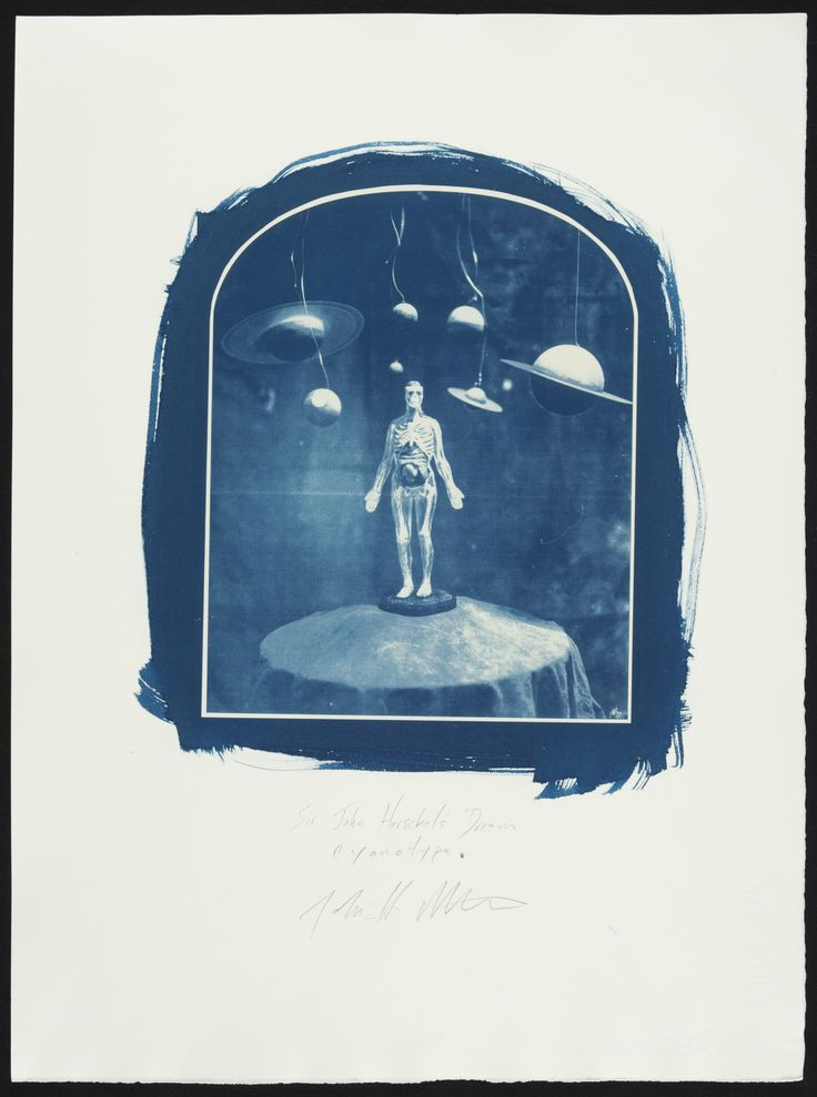 "John Metoyer, ""Cyanotype Proof of 'Sir John Herschel's Dream'"" (2004) (© John Metoyer) (click to enlarge)"