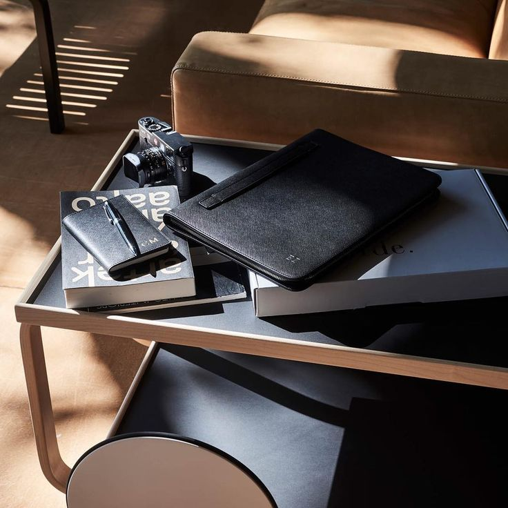 For those who are starting their year back at work tomorrow...work made organised with our desk accessories // shop personalised leather accessories via @thedailyedited www.thedailyedited.com //