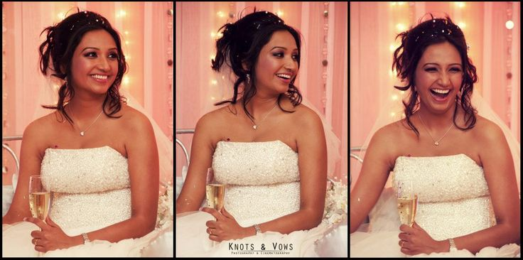 A very happy bride. #knots and vows #wedding photography #mumbai wedding photography #smiling #happy bride