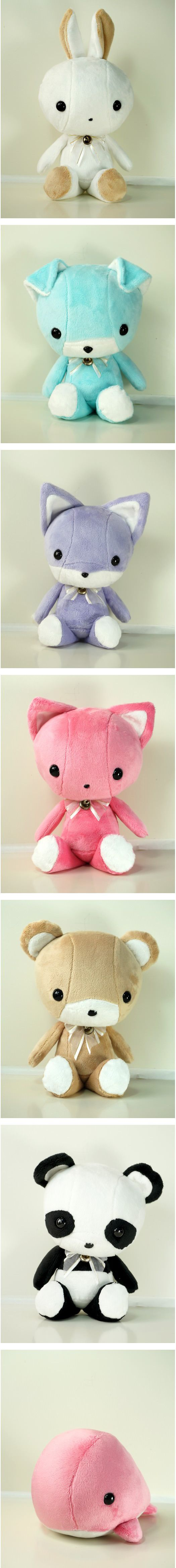 #Beautiful and #cute #plush #animals from Bellzie. The #kids love them, I do so, too.