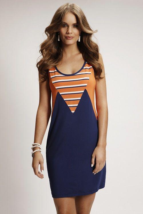 8146LST Geo Dress