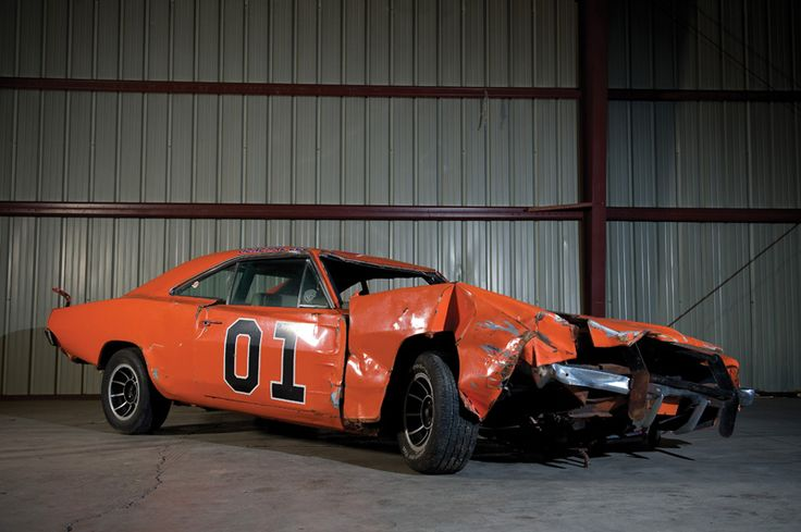Wrecked General Lee Muscle Cars Amp Hot Rods General Lee