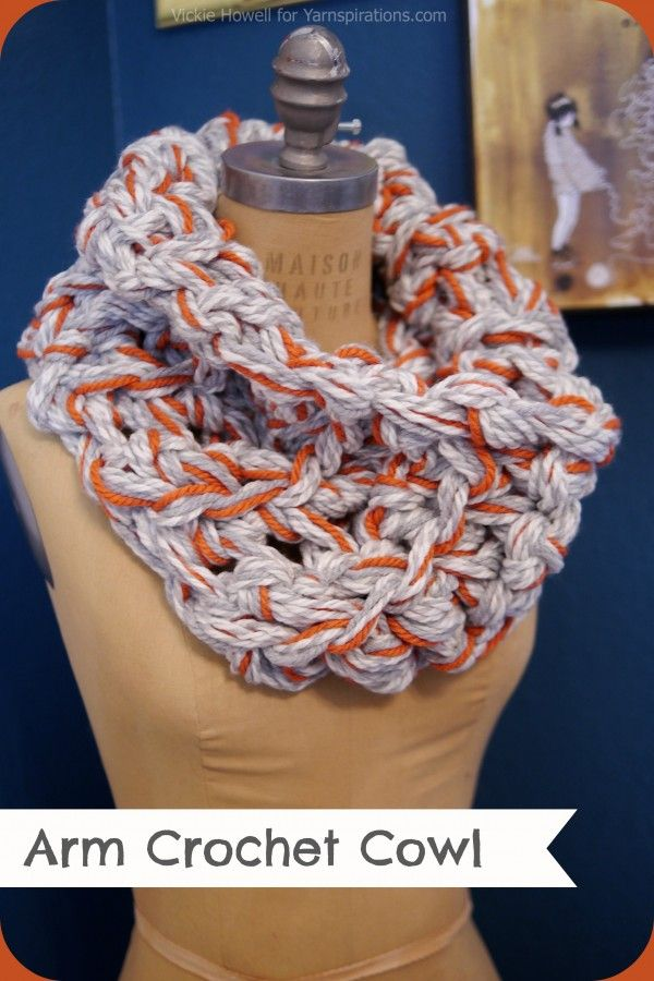 Crocheting Using Your Arms : ... Crochet/shawls/scarves on Pinterest Free pattern, Yarns and Crochet