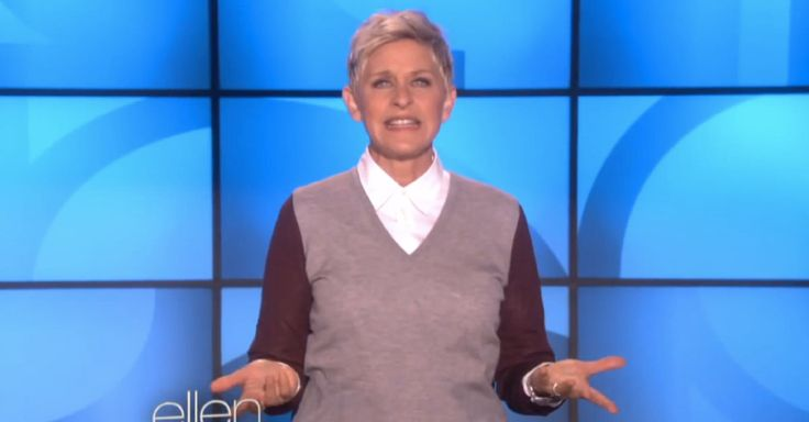 """Bic pens tried to get Ellen to sell a needlessly gendered product - pens """"specially designed"""" for the ladyfolk! Here is her very awesome reaction..."""