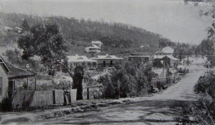 Upwey Victoria 1915 from the 'Lost Melbourne' Facebook page