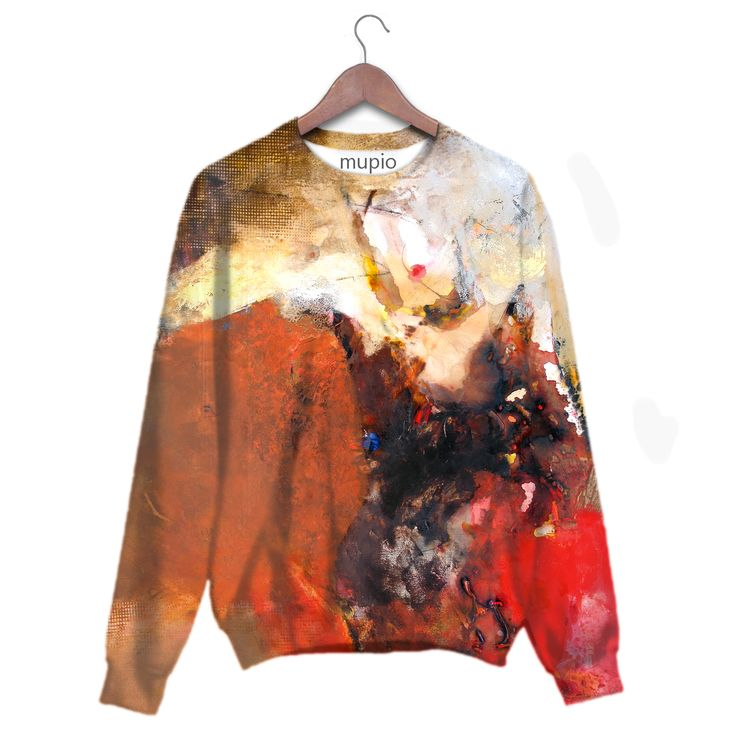 printed sweater Mupio by Artysta i Sztuka Available here: http://mupio.pl/ designer: Krzysztof Rapsa