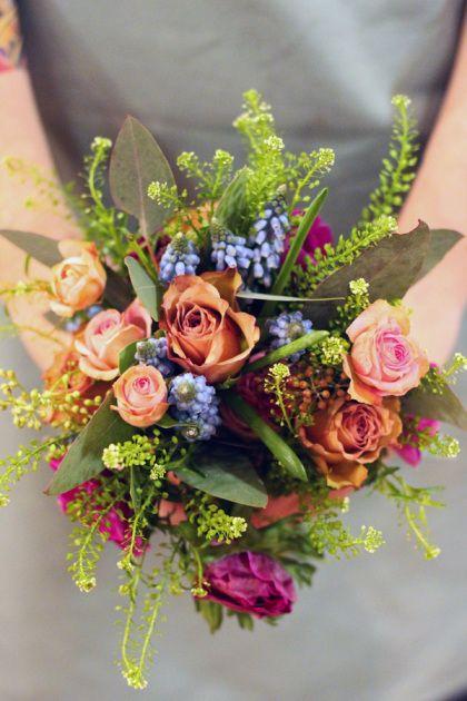 ramos de novia flores silvestres