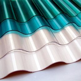 Polycarbonate Roof Sheeting Profile = R110 p.m., IBR = R98 p.m.