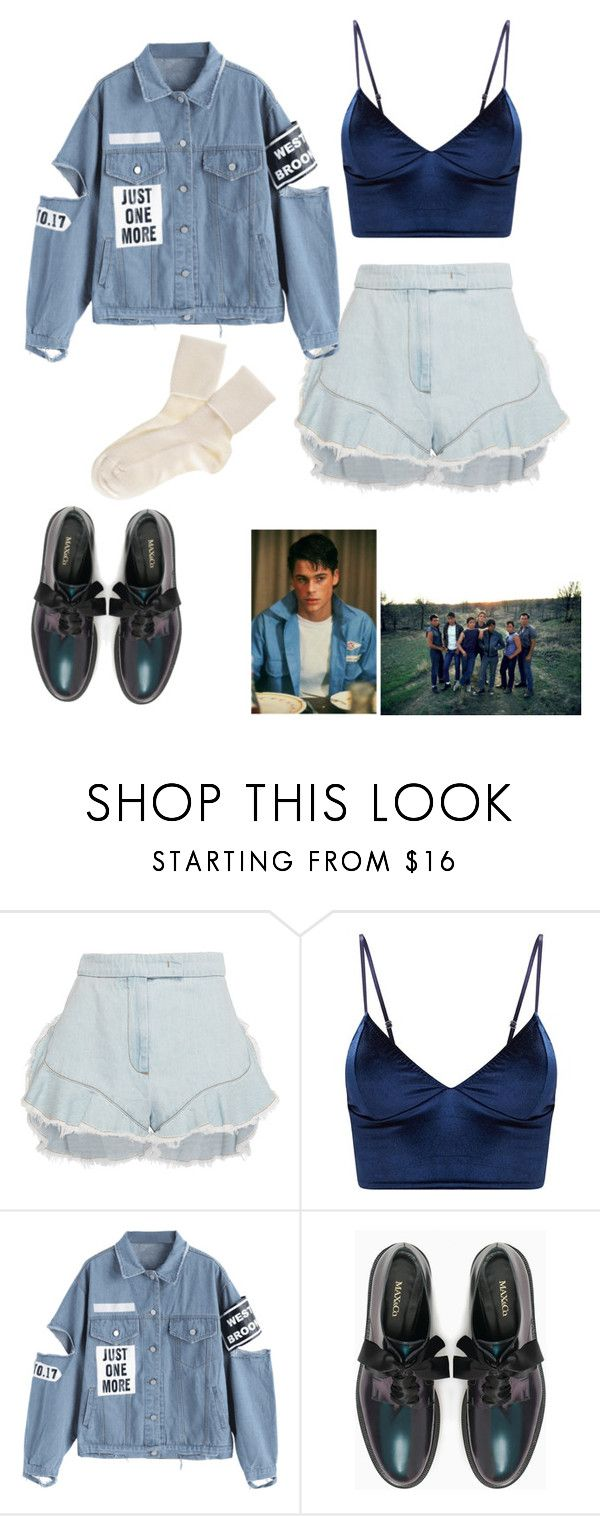 """""""A Soc in love"""" by fandom-trash-stan on Polyvore featuring Giamba, Max&Co., Black and RALPH"""