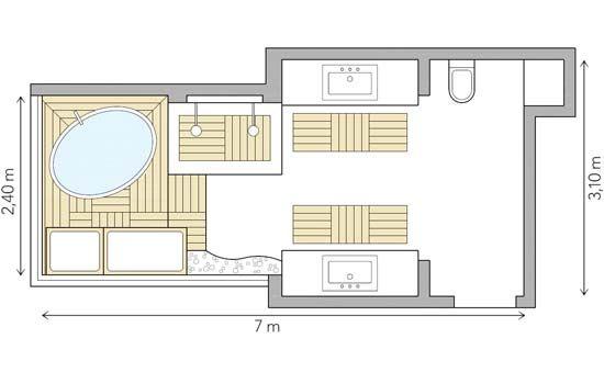 Dois banheiros mais confortáveis depois da reforma - Casa