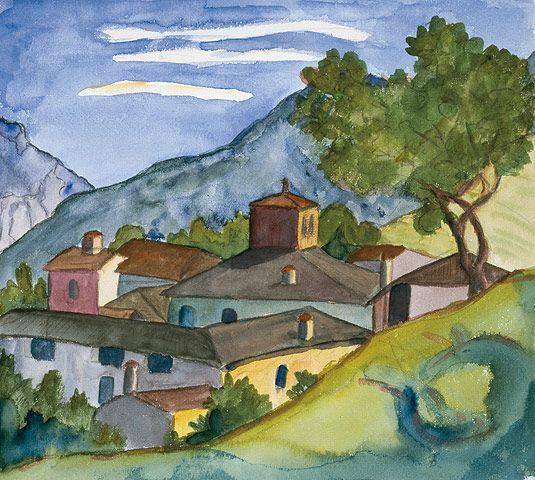 Carona, 1926         © Fondazione Hermann Hesse Montagnola