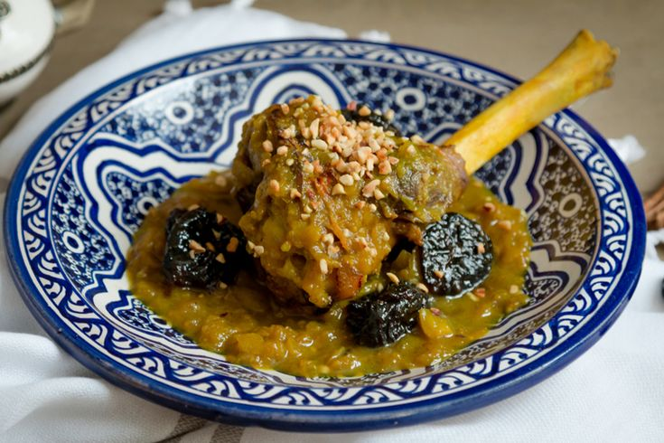Lamb Tagine with Prunes — My Moroccan Food