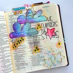He Numbers the Stars Growing Meadow Tai Bender Bible Journaling