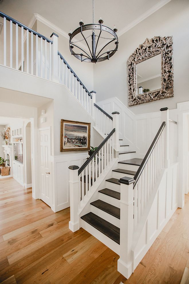 Best 25+ Staining Stairs Ideas On Pinterest | Stair Makeover, Stained  Staircase And Rustic Floors