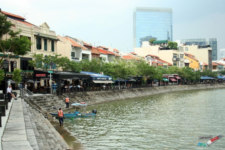 Boat Quay. 10 Cool Things to Do In Singapore  ---> http://www.confiscatedtoothpaste.com/cool-things-to-do-in-singapore/