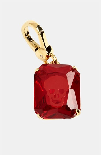 Juicy Couture Skull Engraved Stone Charm available at #Nordstrom