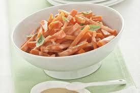 Bastoncini di carote alla senape