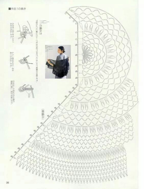 1911 best images about    crochet shawls  stoles and capelets  patterns  u0026charts on pinterest