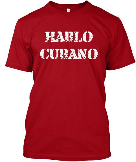 HABLO CUBANO | Teespring