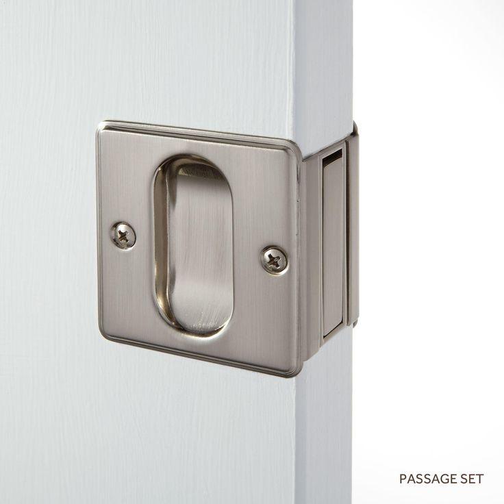 Great Nestore Pocket Door Pull Set Passage Privacy