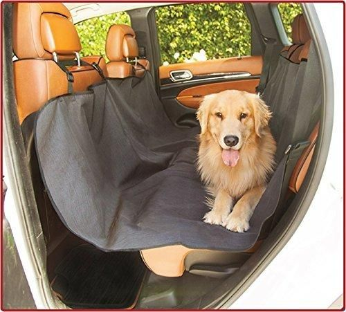 Majestic Black Hammock Dog Car Seat Cover Waterproof Non Slip Rear Bench Seat Protector Universal Auto Back Seat Covers Child Baby & Infant Mat Pet Travel Accessories Stain Protection for Cars & SUV