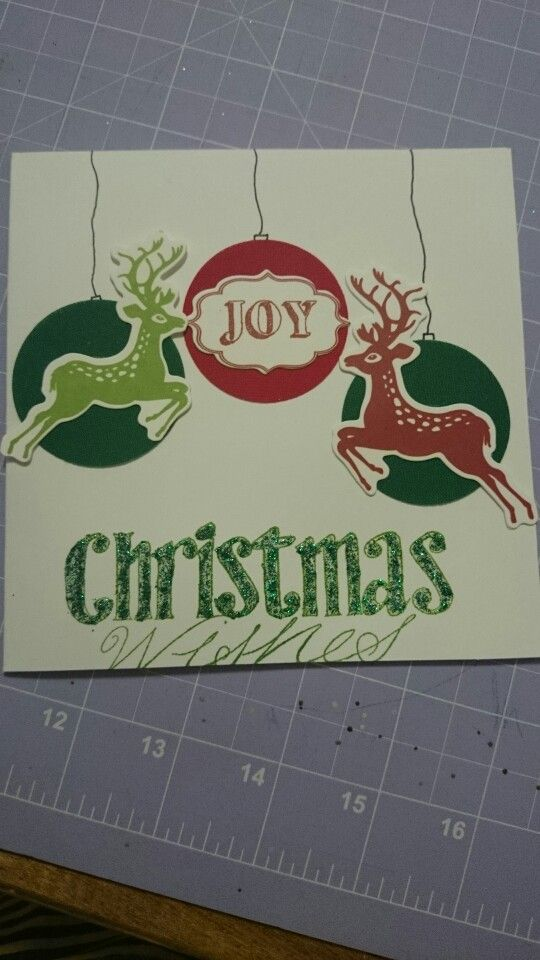 Christmas Wishes - Scrapbook Christmas card
