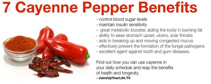 7 cayenne pepper benefits foodie pinterest pepper