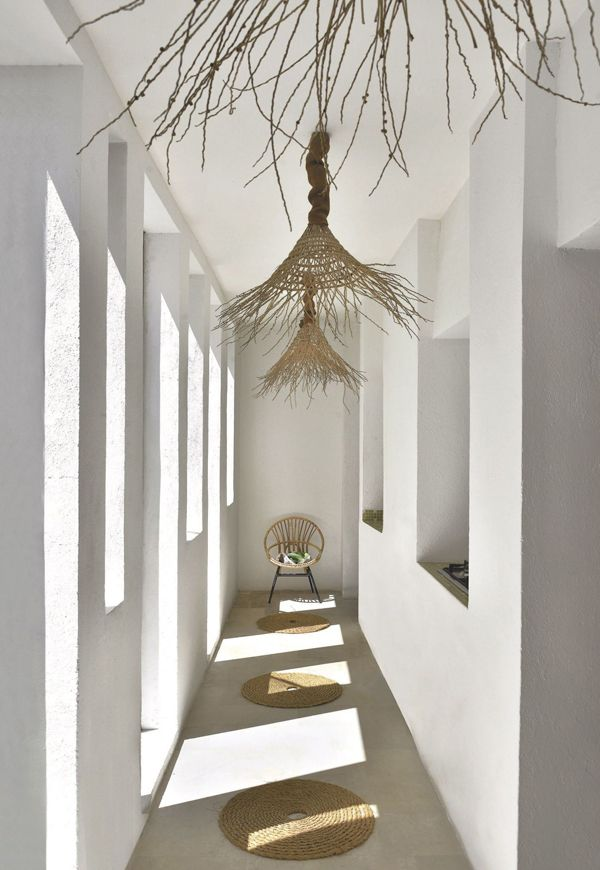 Question: Could I make lamps out of frayed hats?  And live in Tunisia?  decordemon: A FASHION DESIGNER'S SUMMER HOME IN TUNΙSIA