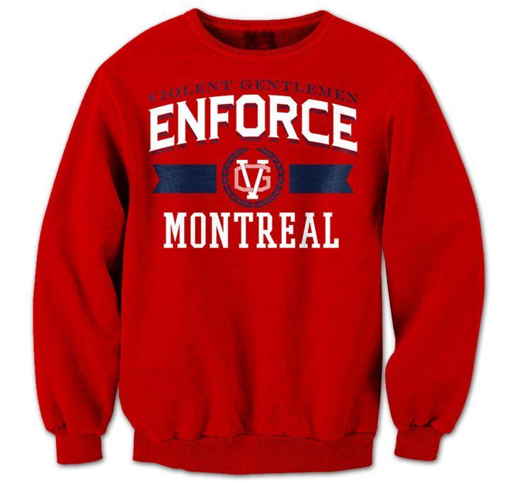 Violent Gentlemen | Enforce Montreal - Parros Crew neck