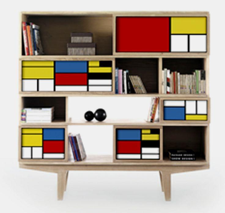 Mondrian Furniture 57 best de stijl images on pinterest | style, bauhaus and piet