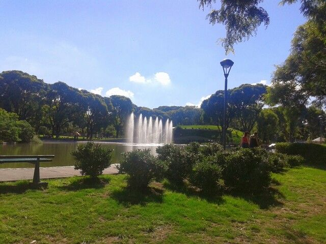 """In the heart of Buenos Aires is a wonderful green park named 'Parque Centenario""""."""