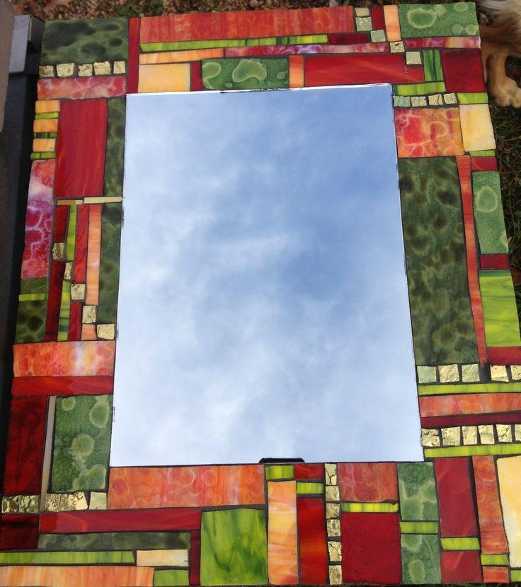 Mosaic mirror 2013 by Kelly Shanafelt