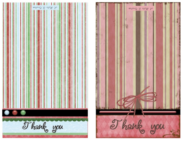 .........Visiting Teaching surprise!: Printable Thank-you cards