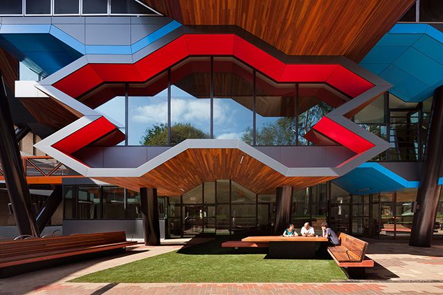 Lims Latrobe University Molecular Science Building By Lyons Architects