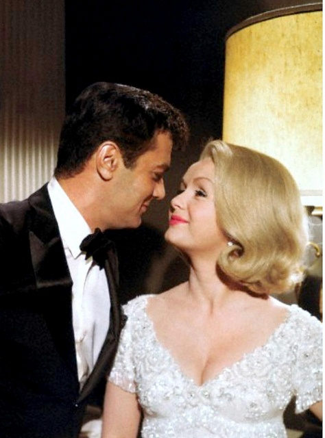 Debbie and Tony Curtis in Good-bye Charley.