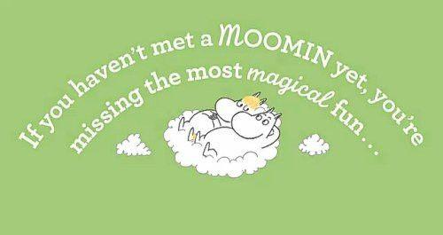 Yes! Moomintrolls!