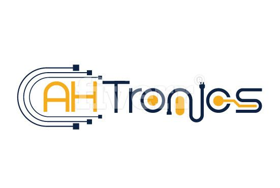 Iconic logo design.. electronics Equipment Company logo. #fvmgraphics