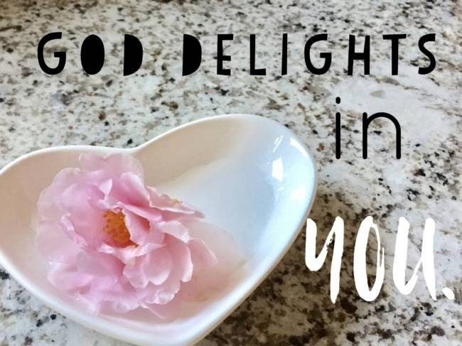 You are a #delight to your #Father. #Psalm 149:4 #LtA © 2017 LtA