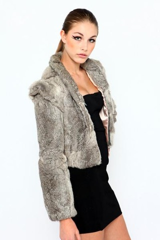 Jessica Rabbit Fur Coat