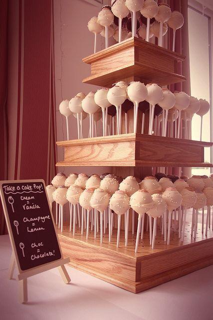 Cake pops wedding cake | Flickr - Photo Sharing!