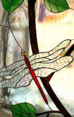 vitrail-libellule-tiffany-paris-atelier-pontoise-val d'oise