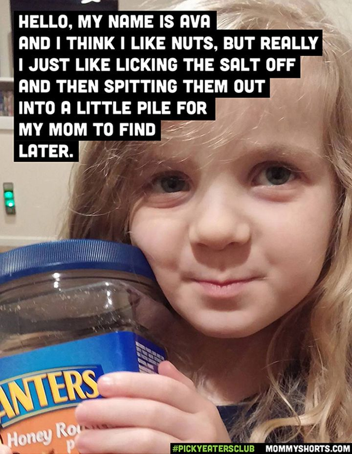 These Kids Are The Kings And Queens Of Picky Eaters Fussy Is Their Middle Name