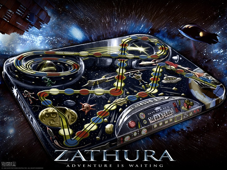 Zathura I got the board game, movie, and the video game