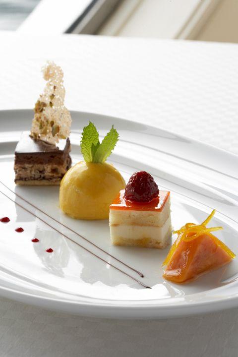 Mini desserts, Epernay, Celebrity Cruises #plating #presentation