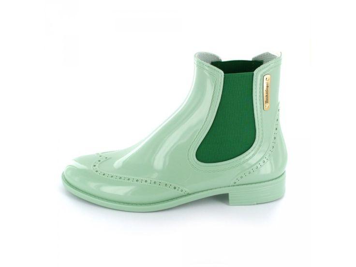 Bockstiegel - Damen Chelsea Gummistiefel in mintgrün