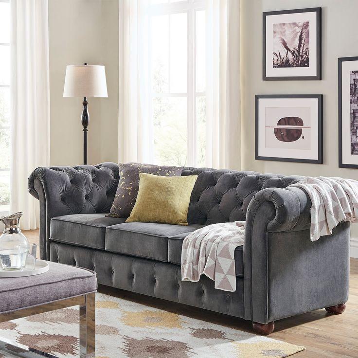the 25 best grey velvet sofa ideas on pinterest gray velvet sofa dark sofa and velvet sofa
