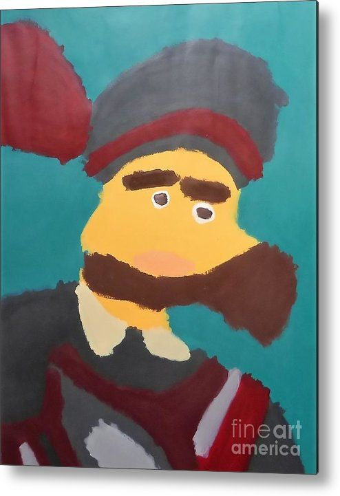 Patrick Metal Print featuring the painting The Emperor Charles V 2014 - After Peter Paul Rubens by Patrick Francis
