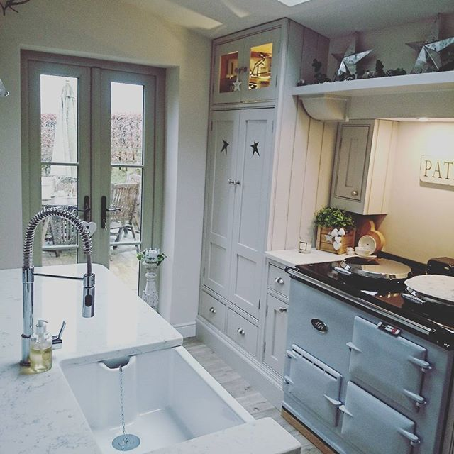 Narrow Country Kitchen: 339 Best AGA Cookers Images On Pinterest